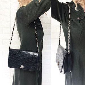 👑Quilted 👑Chanel one flap purse